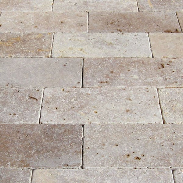 QDI Noce 6x12 Tumbled Travertine Paver