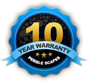 10 Year Warranty - PebbleScapes Premium Pool Resurfacing Material