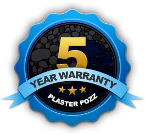 5 Year Warranty - PlasterPozz Premium Pool Resurfacing Material
