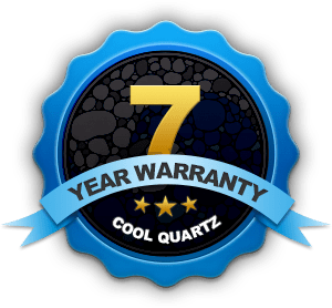 7 Year Warranty - CoolQuartz Premium Pool Resurfacing Material