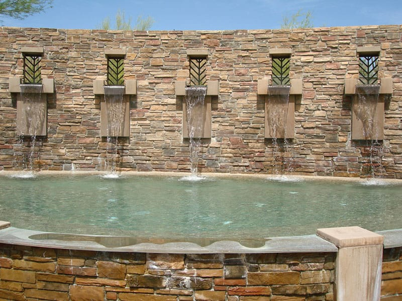Aquavida Pools Scupper Water Features