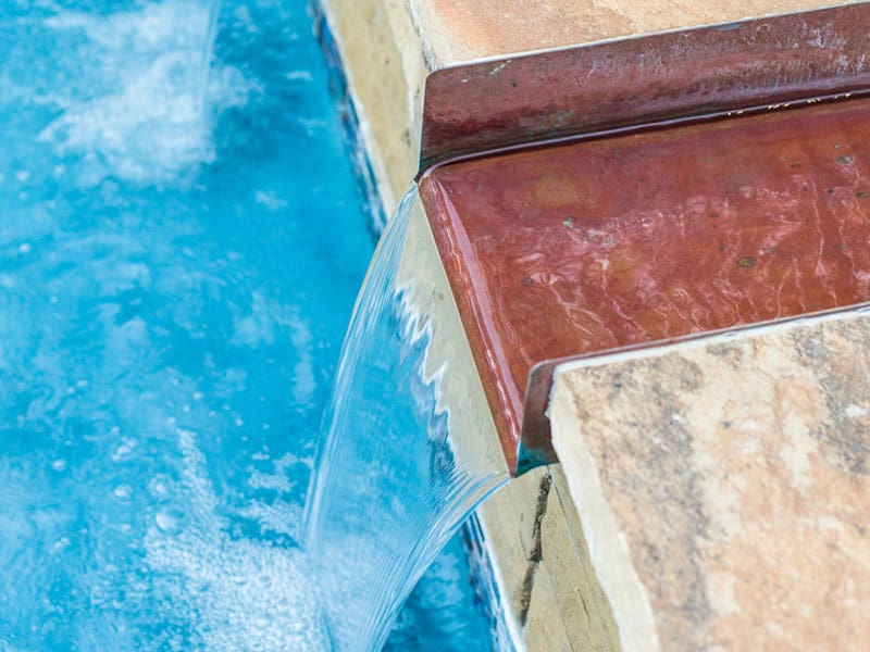Aquavida Pools Spillway Water Features