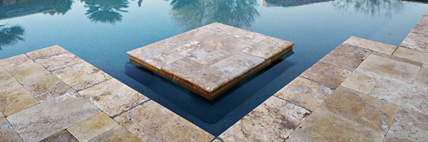 Aquavida Pools Travertine Pool Pavers